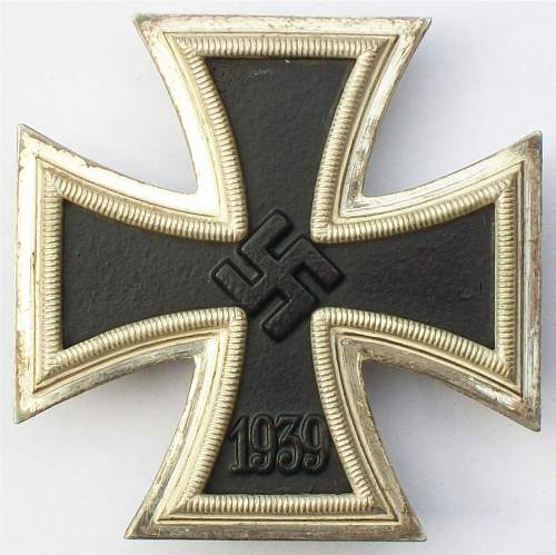 B.H. Mayer Eisernes Kreuz 1 Klasse.