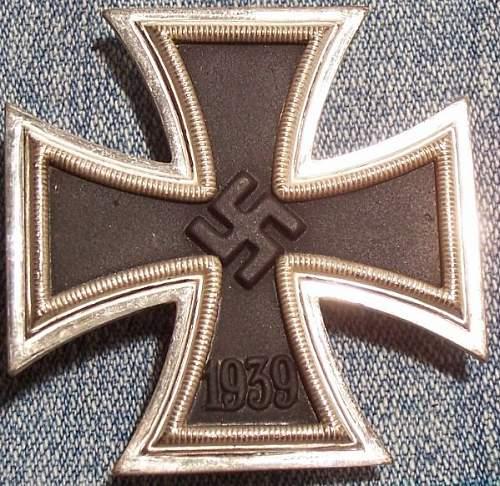 Eiserne Kreuz 1.Klasse Deumer