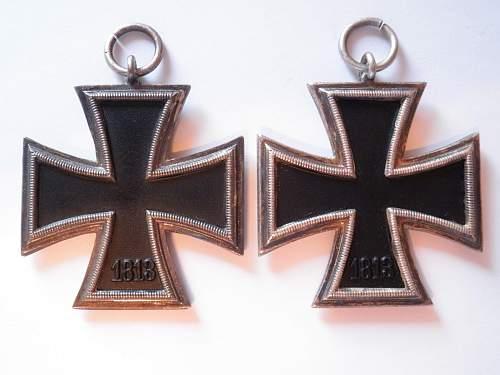 My newest cross..