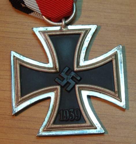 my new frosty Eisernes Kreuz 2 Klasse