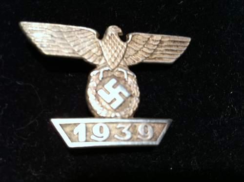 Eisernes Kreuz First Class Spange??? OPINIONS???