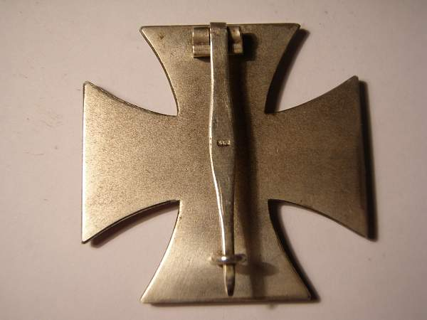Eisernes Kreuz 1 klasse.