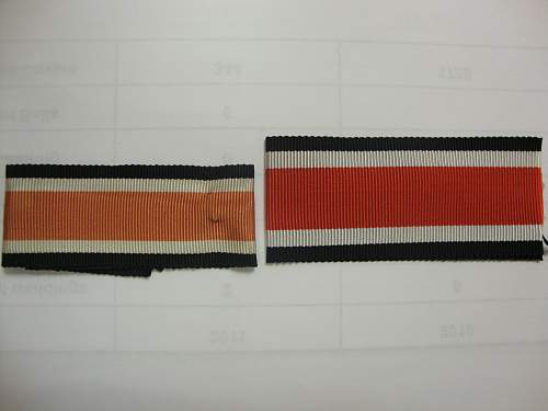 EK2 Ribbon sizes, what are your thoughts?
