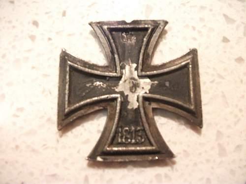 Eisernes Kreuz 2nd class.
