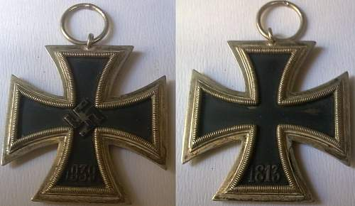 Opinions on this Eisernes Kreuz