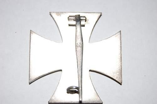 Cased Eisernes Kreuz 1st Klasse.