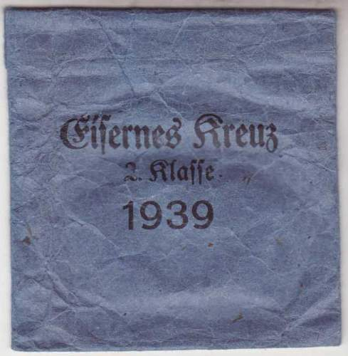 My first Eisernes Kreuz II Klasse. Maker ?