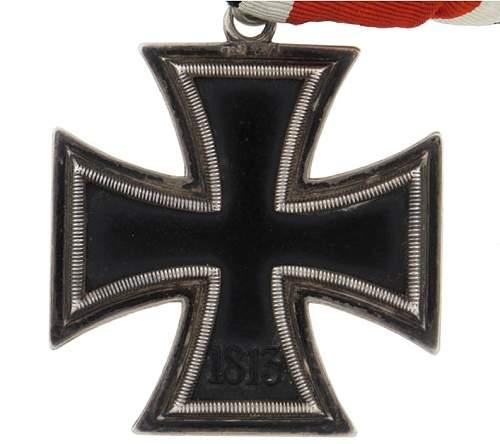 Ritterkreuz to General Johann de Boer