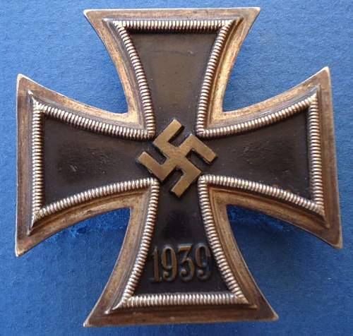Real or fake Eisernes Kreuz?