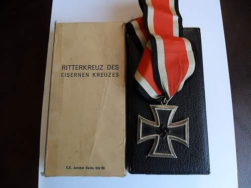 Ritterkreuz - opinions please.