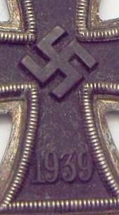 Eisernes Kreuz maker?