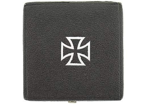 Opinions...  my first cased Eisernes Kreuz 1st class.