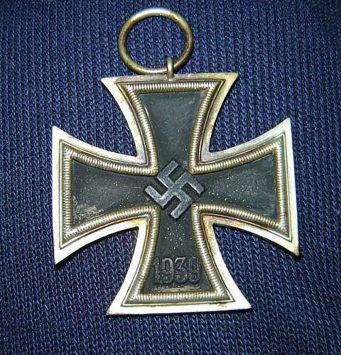 Eisernes Kreuz ID; Which Class?