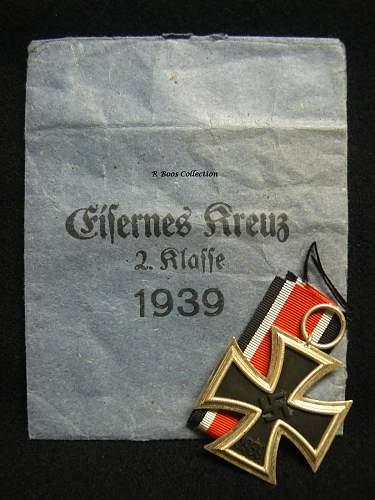 Eisernes Kreuz 2. klasse mm '65'