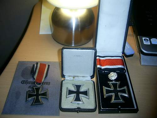 Iron Cross first class with box