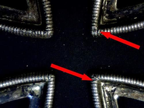 Please help identify these two unmarked Eisernes Kreuz 2. Klasse