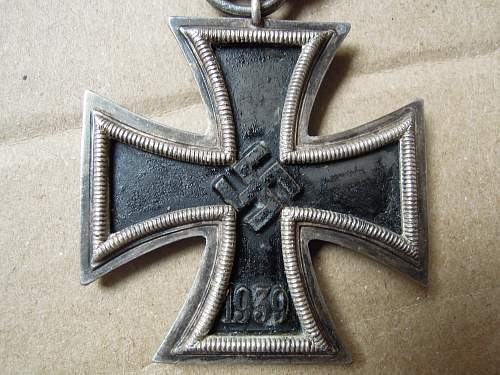 Click image for larger version.  Name:Eisernes Kreuz 2. Klasse (55) obverse #3.jpg Views:70 Size:261.9 KB ID:299224