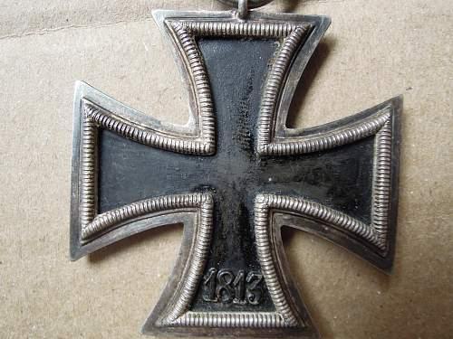 Click image for larger version.  Name:Eisernes Kreuz 2. Klasse (55) reverse.jpg Views:66 Size:259.2 KB ID:299226