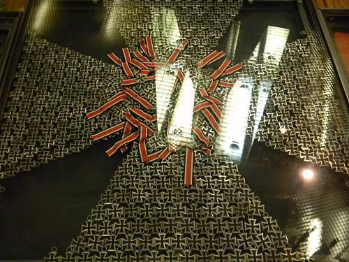 Eisernes Kreuz display.