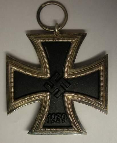 Eisernes Kreuz 2. Klasse, '1' marked, with packet