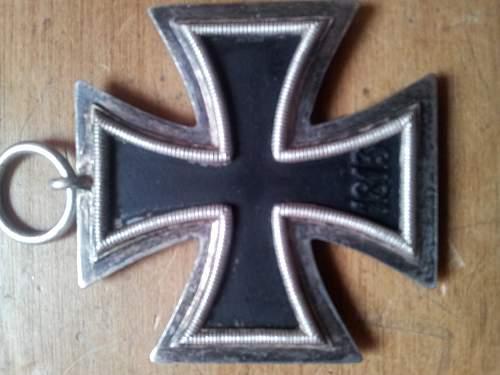 my new crosses