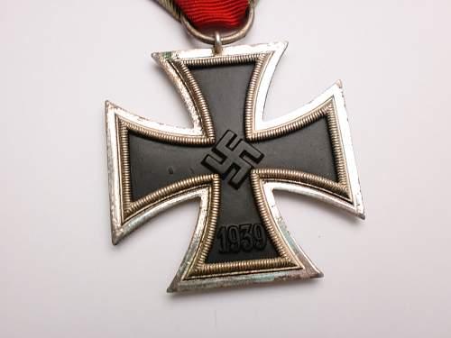 Eisernes Kreuz 2. klasse mm '4'