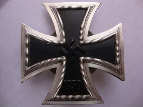 Eisernes Kreuz I klasse