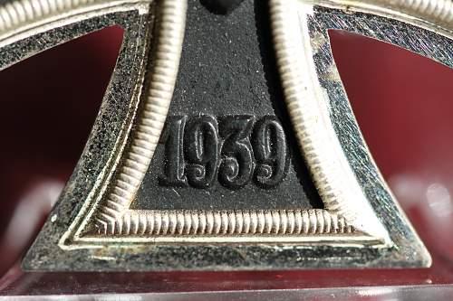 2nd Gustav Brehmer 2nd class Eisernes Kreuz