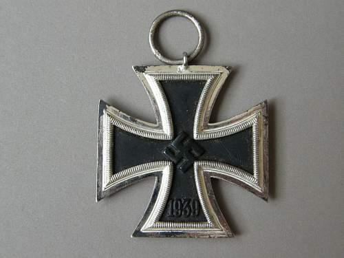 Eisernes Kreuz 2. klasse hersteller 13 original?