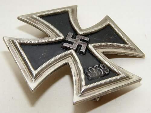 Eisernes Kreuz 1. Klasse -orginal Meybauer?