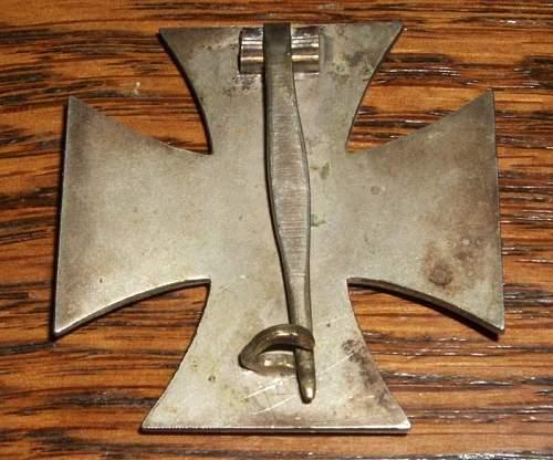 Eisernes Kreuz 1.Klasse original?