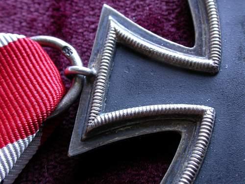 Eisernes Kreuz 2 Klasse mm 55