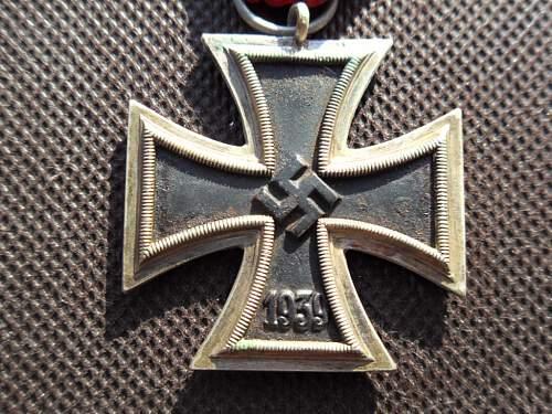 Eisernes Kreuz 2.Klasse - Manufacturer Code 25