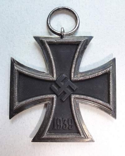 Click image for larger version.  Name:Eisernes Kreuz 2nd Class 65 K&Q 1013.jpg Views:61 Size:242.9 KB ID:359672