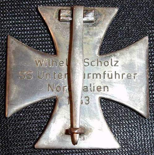 Is this Iron cross 1st class repro/fake