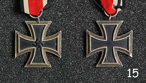 Eisernes Kreuz II Klasse x 2