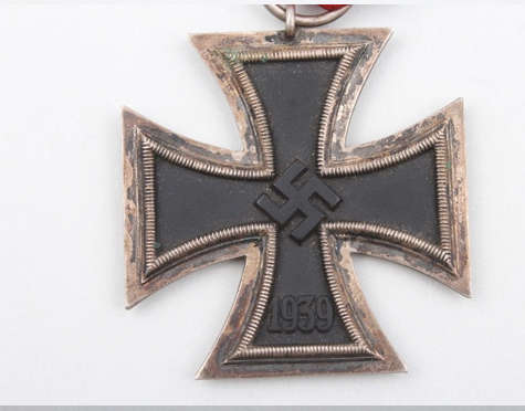 Name:  Eisernes Kreuz 2. Klasse Zimmerman 2.jpg Views: 117 Size:  132.1 KB