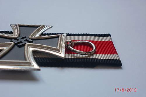 Eisernes Kreuz 2. klasse LDO marked Deumer