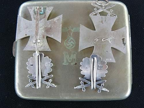 Ritterkreuz mit Eichenlaub und Schwertern?