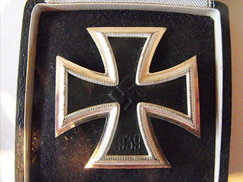 Eisernes Kreuz 1.Klasse from 2nd hand shop