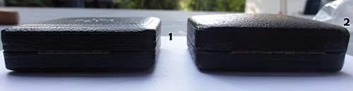 Two ek1 empty boxes