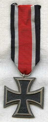 Eisernes Kreuz 1. & 2. Klasse. Real? or not ?