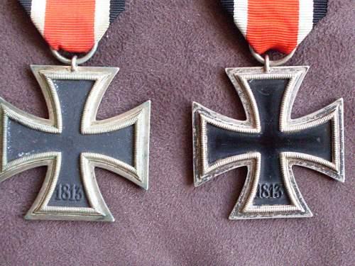 Eisernes kreuz ii(pair for opinion)