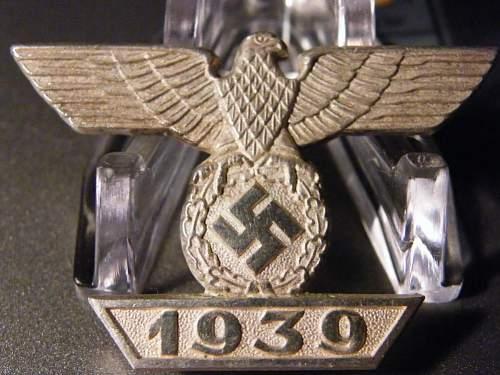 Spange zum Eisernen Kreuz - Original or Fake?