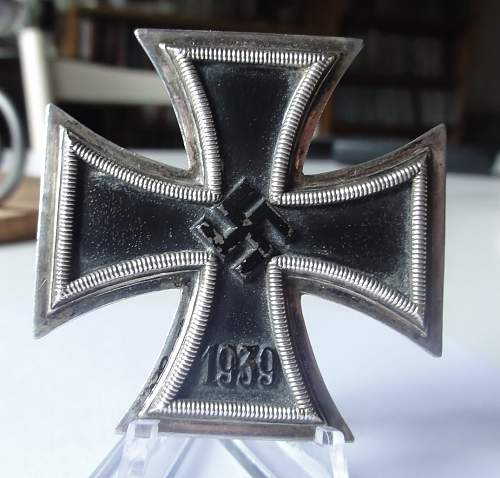Eisernes Kreuz 1. Klasse mit etui.
