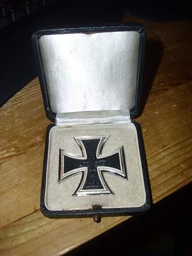 Early 57er EK I, in Wartime box ?