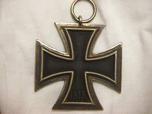Eisernes Kreuz 2nd Klasse maker 24,would you be happy with this?