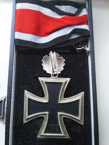 Interesting Ritterkreuz des Eisernen Kreuzes