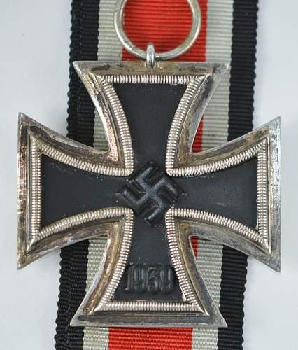 Eisernes Kreuz 2. Klasse, unmarked '60' for review