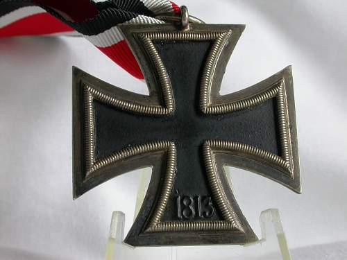 thanks to Ingrid! very nice cross!
